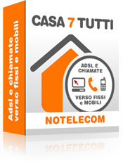 Casa 7 Tutti NoTelecom