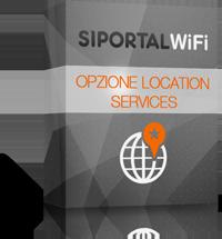 Opzione Location Service