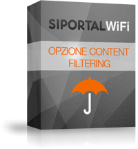 Opzione Content Filtering