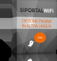 Opzione Pagina in altra lingua