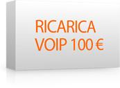 Ricarica 100 per Voip