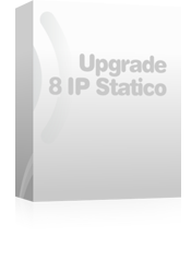 Upgrade a 8 IP statici