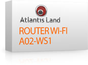 Router wireless Adsl2+ Atlantis Land