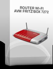 Noleggio router Fritz!Box 7272