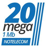 SiAdsl 20 Mega 1 Mega Business NoTelecom
